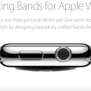 Apple anuncia programa de pulseiras autorizadas criadas para o Watch