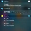 Como separar as notificações por aplicativo na Central de Notificações do iOS 9