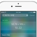 Faça operações matemáticas, conversões de moedas e muito mais no Spotlight do iOS 9