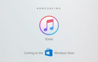 iTunes será disponibilizado na loja de aplicativos do Windows 10 até o final do ano