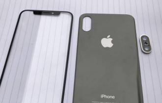 Estas seriam as primeiras peças do iPhone 8 que vazam na internet