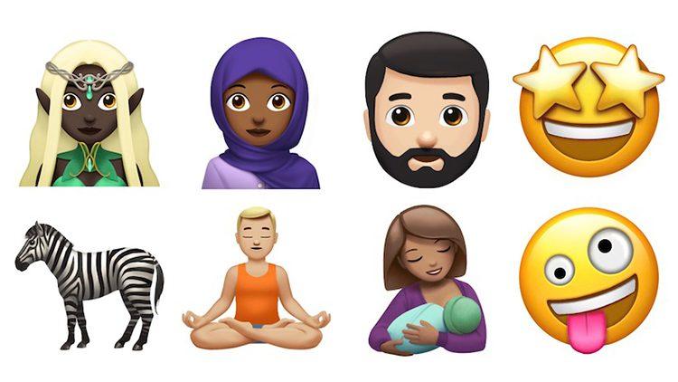 Apple divulga novos emojis que serão adicionados no iOS 11 e macOS High Sierra