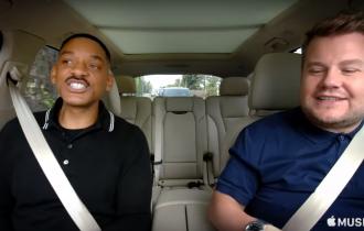 Primeiro episódio de Carpool Karaoke com Will Smith já está disponível no Apple Music