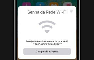 iOS 11 permite compartilhar a senha de redes Wi-Fi com dispositivos próximos