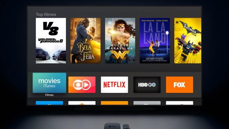 Nova Apple TV tem suporte à resolução 4K e tecnologia HDR