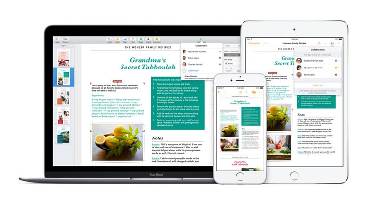Apple atualiza iWork com novos recursos do iOS 11 e macOS High Sierra