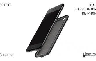 Concorra a uma capa carregadora para seu iPhone com o iHelp BR e loja iPhone Power