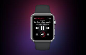 watchOS 4.3 traz novamente o controle de músicas do iPhone para o Apple Watch
