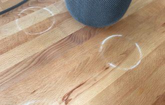 Usuários descobrem que HomePod deixa manchas nos móveis de madeira